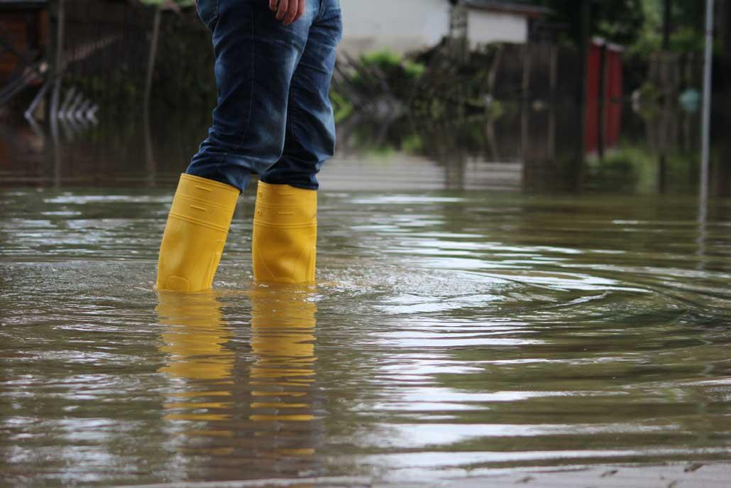 Tankservice Hochwassergebiet