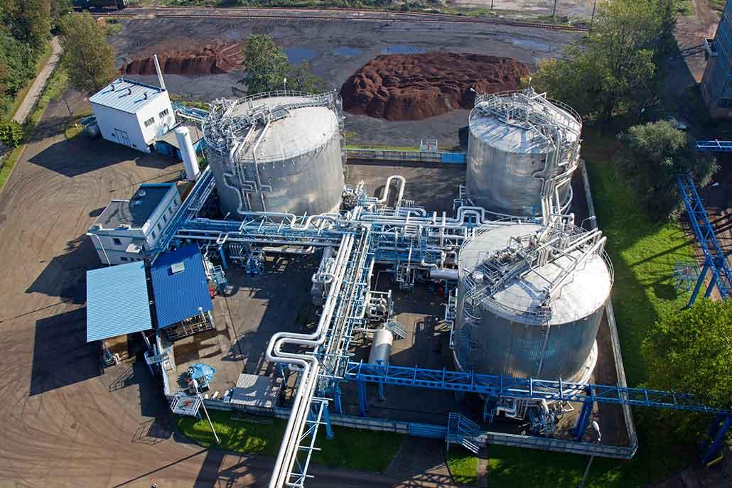 Tankservice für Industrieanlagen